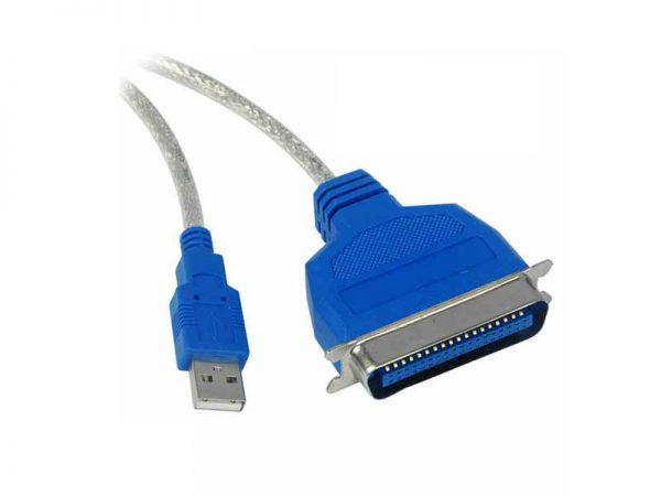 تبدیل usb به parallel   تبدیل یو اس بی به پارالل   قیمت کابل تبدیل usb به parallel   خرید مبدل پارالل به USB   فروشگاه اینترنتی ای خرید .