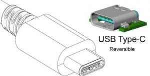 Connector-usb-type-c