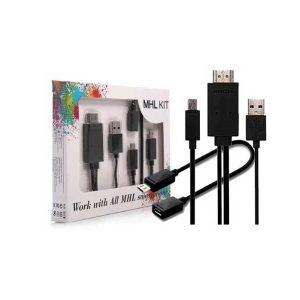 تبدیل میکرو یو اس بی به اچ دی ام آی-MHL Kit