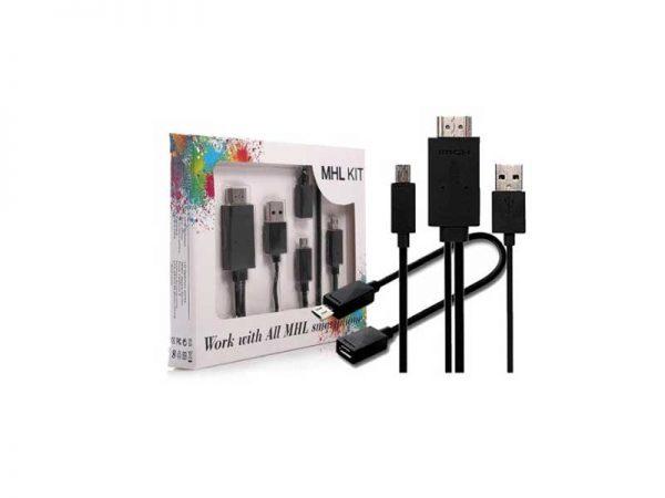 تبدیل mhl به hdmi | تبدیل میکرو usb به hdmi | اتصال گوشی به تلویزیون | کابل تبدیل usb به hdmi | کابل تبدیل mhl به hdmi | اتصال موبایل به تلویزیون | ای خرید