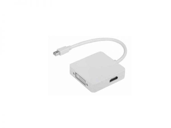 تبدیل مینی دیسپلی پورت به اچ دی ام آی۳ کاره-Mini displayport to HDMI-DVI-DP