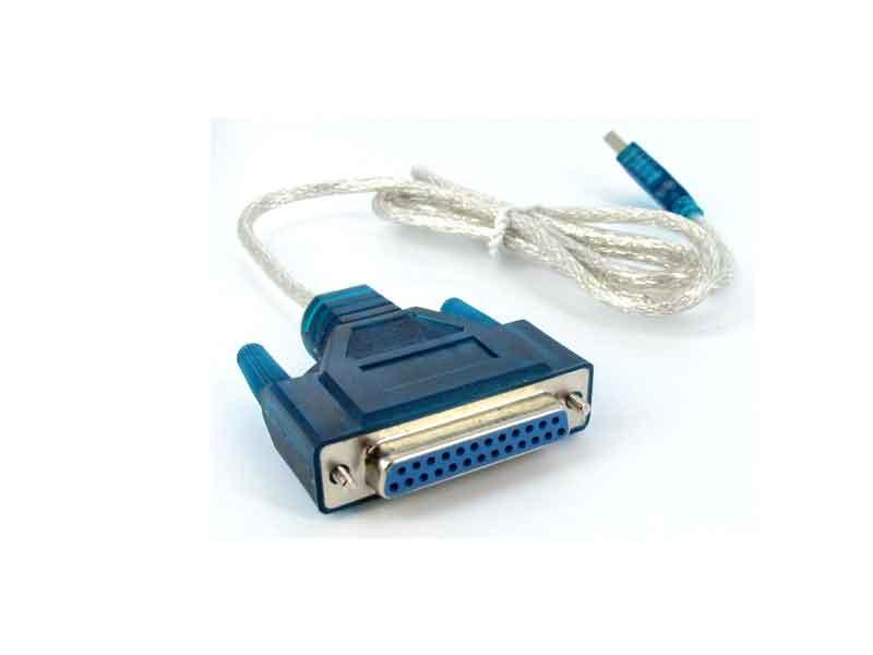 تبدیل usb به 25 پین ماده پارالل | مبدل پارالل به USB | قیمت تبدیل 25 پین مادگی | خرید تبدیل usb to 25db | فروشگاه اینترنتی ای خرید