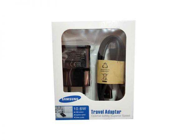 شارژر سامسونگ با کابل-Samsung Travel Adapter