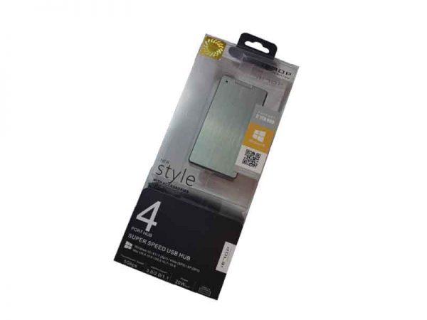 هاب یو اس بی ۳ چهار پورت-USB3 Hub iE70p