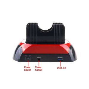 داکت هارد IDE و SATA ای نت-USB 3 IDE&SATA HDD Docking