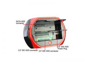 داکت هارد IDE و SATA ای نت-USB 2 IDE&SATA HDD Docking