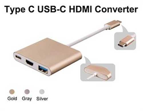 تبدیل تایپ سی به HDMI USB 3.0 Type C
