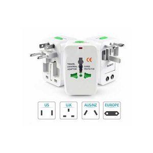 تبدیل برق همه کاره Travel Universal Adapter All in one