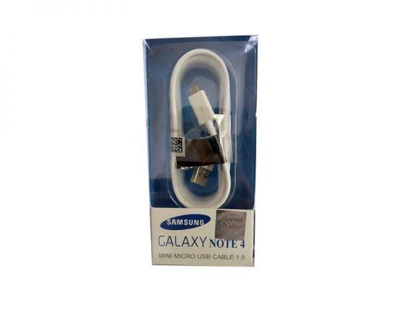 کابل میکرو اورجینال سامسونگ Samsung Original Micro Cable Note 4