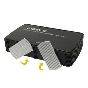 باکس هارد 3.5 فن دار فیدکو USB 3.0 to Sata HDD Box External FIDECO