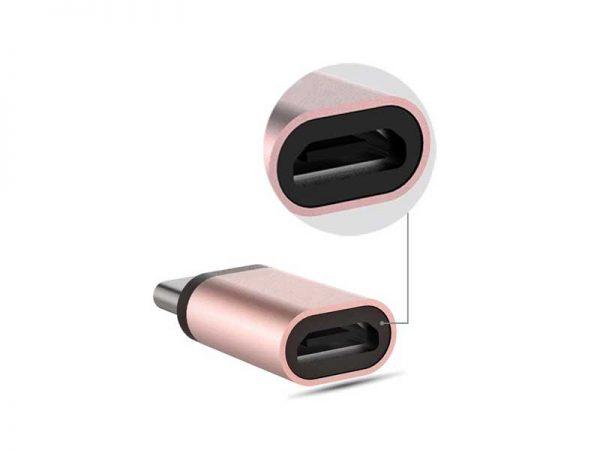 تبدیل تایپ سی به میکرو یو اس بی |تبدیل میکرو USB به Type c |تبدیل type c به micro usb | تبدیل OTG تایپ سی | تبدیل کوچک برای اتصال میکرو USB به Type c |