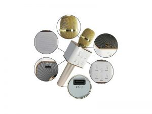 میکروفون-اسپیکری-بلوتوثی-Wireless-microphone-Bluetooth-Speaker-Q7