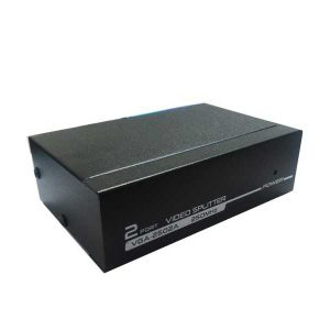 اسپلیتر vga 250 مگاهرتز | vga splitter | اسپلیتر وی جی ای | انتقال تصاویر از یک دستگاه پخش کننده تصاویر با خروجی vga به چند دستگاه گیرنده |
