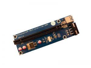 رایزر گرافیک 1X به 16X با کابل Graphic Card Rizer USB3.0