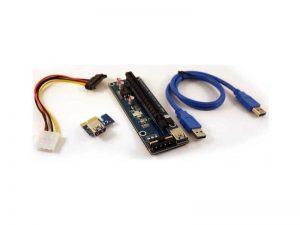رایزر-گرافیک-1X-به-16X-با-کابل-Graphic-Card-Rizer-USB3.0-ver1.0-