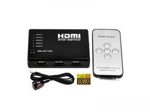 سوییچ HDMI ریموت دار | سوییچ 5 به 1 HDMI ریموت دار | سوئیچ 5 به 1 HDMI ریموت دار |