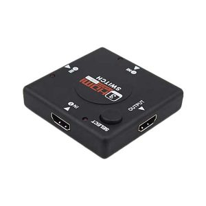 سوییچ اچ دی ام آی ۳ پورت بدون ریموت HDMI Switch enet
