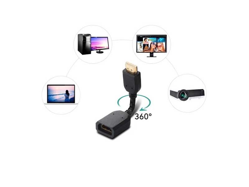 تبدیل نری به مادگی HDMI 360 درجه