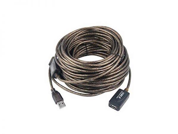 کابل افزایش طول USB | کابل افزایش 30 متری usb | کابل usb نری به مادگی | کابل usb بدون افت | کابل افزایش طول یو اس بی | ای خرید