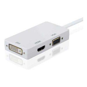 تبدیل دیسپلی پورت به DVI/HDMI/VGA تبدیل DP به DVI HDMI VGA
