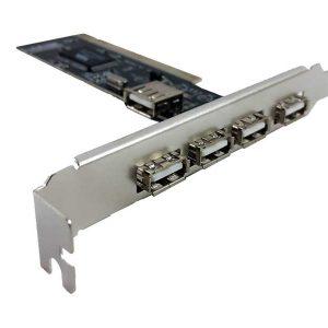 تبدیل PCI به USB2.0 | کارت pci usb2.0 | کارت تبدیل PCI به USB2.0
