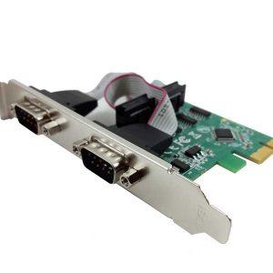 تبدیل pci express به rs232 | کارت کام پورت | کارت rs232 | کارت سریال pci express | کارت سریال اکسپرس