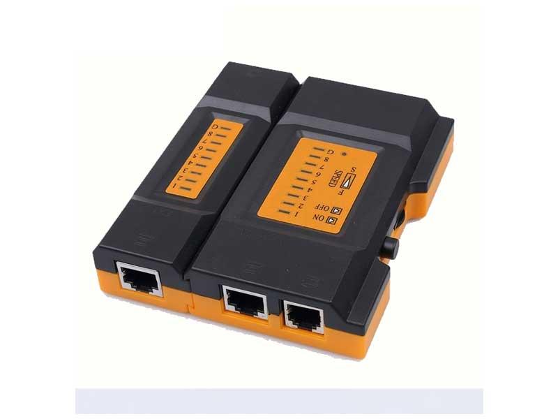 تستر شبکه Mini Pro | تستر کابل لن | تستر LAN