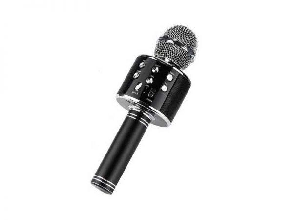 میکروفون اسپیکری ws858 میکروفون کارائوکه میکروفون بلوتوثی بهترین میکروفون اسپیکری