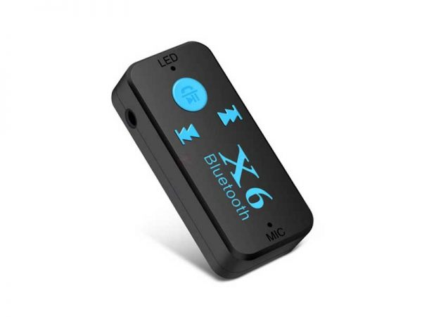 کارکیت بلوتوث X6 | کارکیت بلوتوثی | گیرنده صدا | گیرنده بلوتوثی