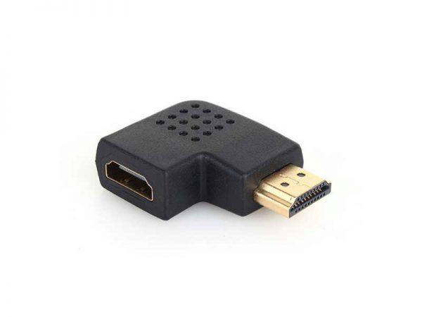 تبدیل نری به مادگی HDMI با زاویه ۹۰ درجه   تبدیل ۹۰ درجه HDMI   نری به مادگی 90 درجه