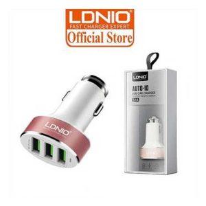 شارژر فندکی LDNIO مدل C501 | شارژر فندکی LDNIO C501 | شارژر فندکی ماشین C501 |