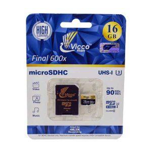 کارت حافظه Vicco ظرفیت 16 U3 | مموری کارت Vicco ظرفیت 16 U3 | رم Vicco ظرفیت 16 U3 |