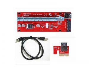 رایزر گرافیک 1X به 16X | رایزر گرافیک | تبدیل USB به PCI | رایزر کارت گرافیک | رایزر USB3 |