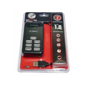 هاب 7 پورت USB2.0   هاب 7 پورت کلیددار   هاب USB2 کلیددار   هاب 7 پورت XP   هاب 7 پورت مدل XP H810   خرید هاب 7 پورت   قیمت هاب USB2.0  