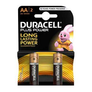 باتری قلمی دوراسل | باتری قلمی آلکالاین دوراسل | باتری Duracell plus power | باتری AA دوراسل | باتری plus power mn1500 | قیمت باتری duracell mn1500 |