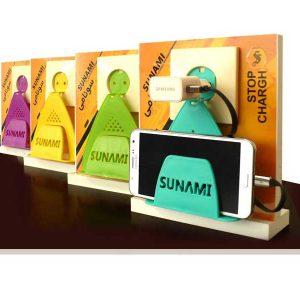 نگهدارنده موبایل در پریز برق | نگهدارنده موبایل سونامی | نگهدارنده موبایل در پریز برق | پایه نگهدارنده موبایل در پریز | هولدر موبایل سونامی |