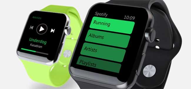 ویژگی-های-منحصر-به-فرد-اسپاتیفای-در-ساعت-هوشمند-اپل