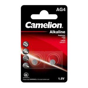 باتری کملیون ag4 | باتری سکه ای کملیون AG4 | باتری ساعت مچی کملیون | قیمت باتری ساعتی AG4 | بهترین باتری ساعتی Camelion Ag4 | ای خرید