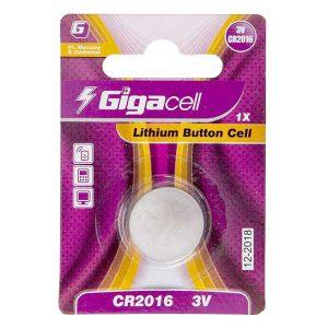 باتری سکه ای گیگاسل 2016 | باتری ساعتی 2016 گیگاسل | باتری سکه ای Gigacell 2016 | باتری Gigacell CR2016 | قیمت باتری ساعتی 2016 | ای خرید