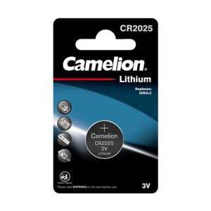 باتری سکه ای 2025 کملیون | باتری سکه ای Camelion CR2025 | باتری سکه ای ریموت کنترل | قیمت باتری سکه ای کملیون CR2025 | خرید باتری سکه ای 2025 | ای خرید