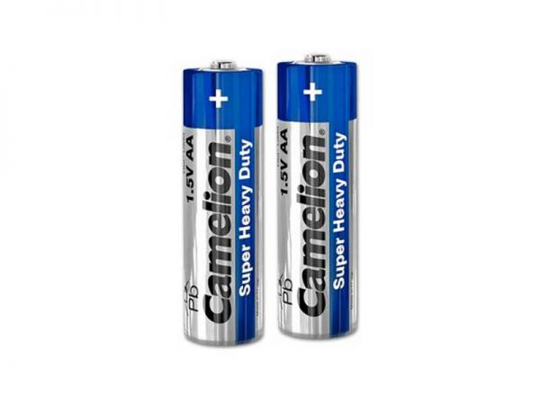 باتری قلمی شیرینگ کملیون | باتری AA شیرینگ کملیون | باتری Camelion Heavy Duty | باتری قلمی معمولی کملیون 2 عددی | قیمت باتری کملیون شیرینگ | ای خرید