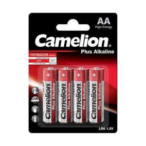 باتری قلمی کملیون پلاس آلکالاین | باتری کملیون آلکالاین AA | باتری پلاس آلکالاین Camelion | باتری قلمی 1.5 ولت پلاس آلکالاین | قیمت باتری قلمی آلکالاین |