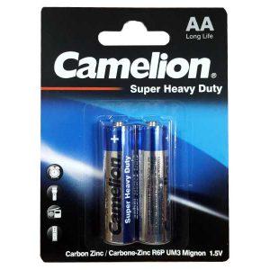 باتری قلمی کارتی کملیون | باتری کملیون Super Heavy Duty | باتری Camelion AA Heavy Duty | باتری قلمی معمولی کملیون | باتری قلمی ارزان کملیون | قیمت باتری کارتی کملیون |