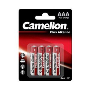 باتری نیم قلم کملیون AAA | باتری Camelion AAA | باتری کملیون Plus Alkaline AAA | قیمت باتری کملیون نیم قلمی | خرید باتری AAA کملیون | ای خرید