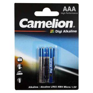 باتری نیم قلم کملیون دیجی آلکالاین | باتری Camelion Digi Alkaline 2 | بهترین باتری نیم قلم کملیون | قویترین باتری نیم قلم Camelion | قیمت باتری نیم قلم Camelion |