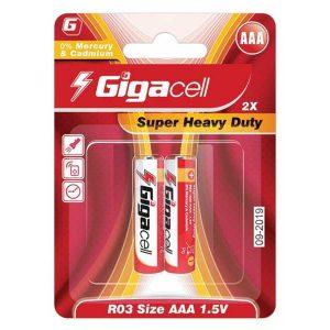 باتری نیم قلمی گیگاسل AAA | باتری نیم قلم gigacell | باتری AAA گیگاسل | باتری ارزان نیم قلم | قیمت باتری نیم قلمی گیگاسل | باتری قلمی ارزان | ای خرید