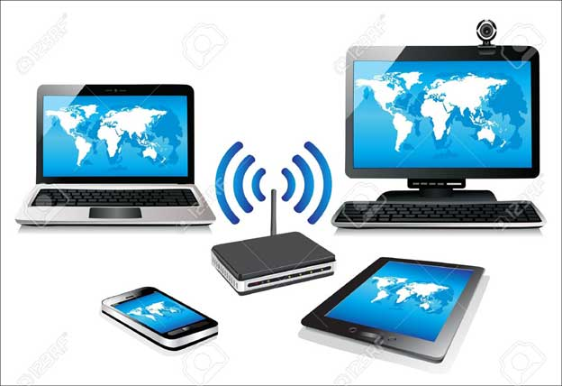مزایای استفاده از شبکه بی سیم WIFI