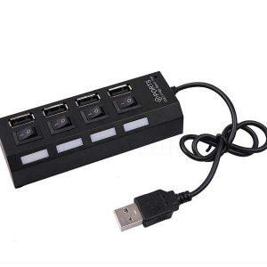 هاب 4 پورت usb2.0 | هاب یو اس بی 4 پورت | اتصال چند دستگاه به یک USB | قیمت هاب usb2.0 | خرید بهترین هاب 4 پورت usb | ای خرید .