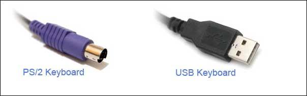 کیبورد-USB-یا-PS2