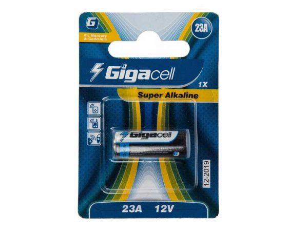 باتری a23 گیگاسل | باتری سوپر آلکالاین A23 | باتری ریموتی a23 gigacell | باتری super alkaline a23 | قیمت باتری گیگاسل a23 | ای خرید.